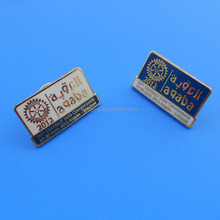 Wholesale 2012 rotary international souvenirs high quality service lapel pins badges