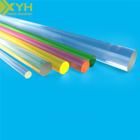 Transparent and Colorful Acrylic super clear round rod plastic rod