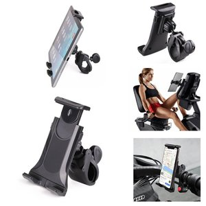 Motorcycle handlebar Smartphone Mount Flexible 360 Swivel Support Bike Holder for Tablet / Cellphone / GPS