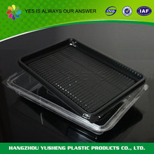 Disposable wholesale clear airline food packaging