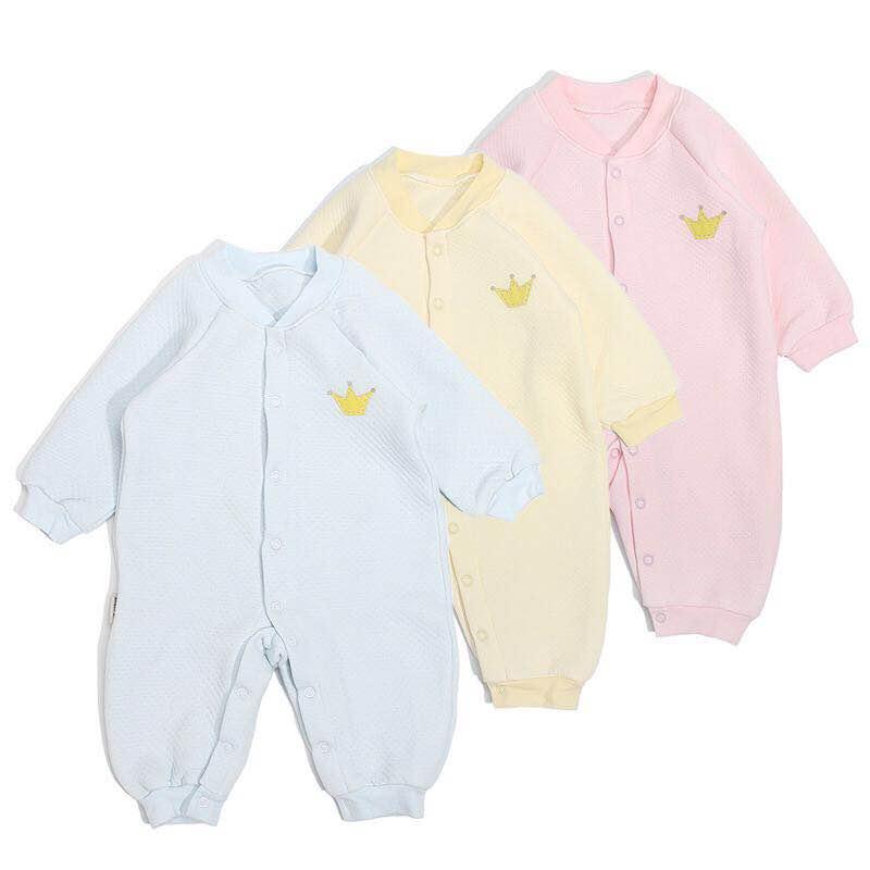 Baby's Cartoon Pajama Onesie Jumpsuit Long Sleeve Romper Baby toddler clothes фото