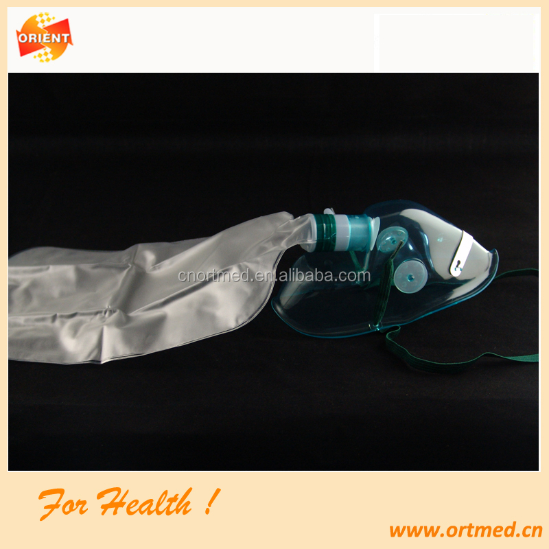 Green color Hygiene nasal oxygen mask