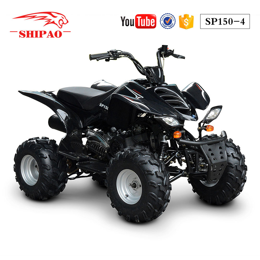 SP150-4 Shipao 4 wheel bike racing 150cc atv