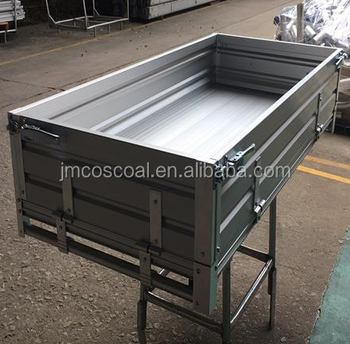 Aluminium alloy tray body for club car