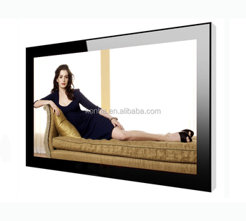 46 inch New touch screen lcd panel wall led TV for public transportation advertising