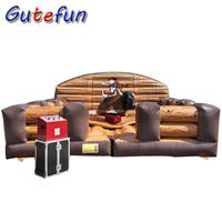 easy set up adult kids riding cheap price mechanical bull for sale with smoke and flashing red eyes