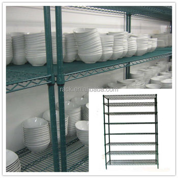 8 Tiers Commercial Kitchen Used Metal Dish Drying Rack,Nsf Approval ...