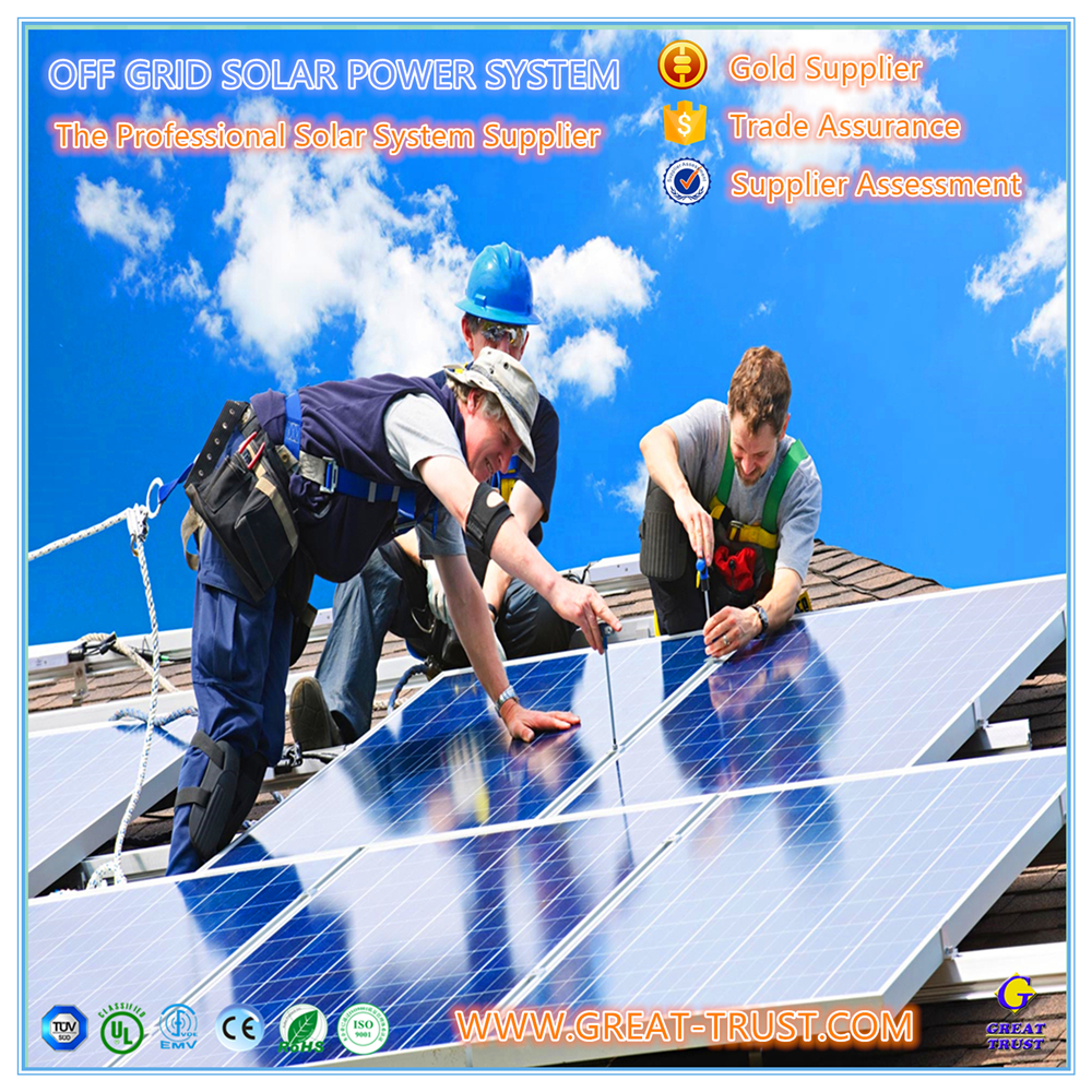 Hot selling 1kw,2kw,3kw,5kw,10kw,50kw,100kw,500kw 10 kw industrial solar panel system kit off grid with high quality