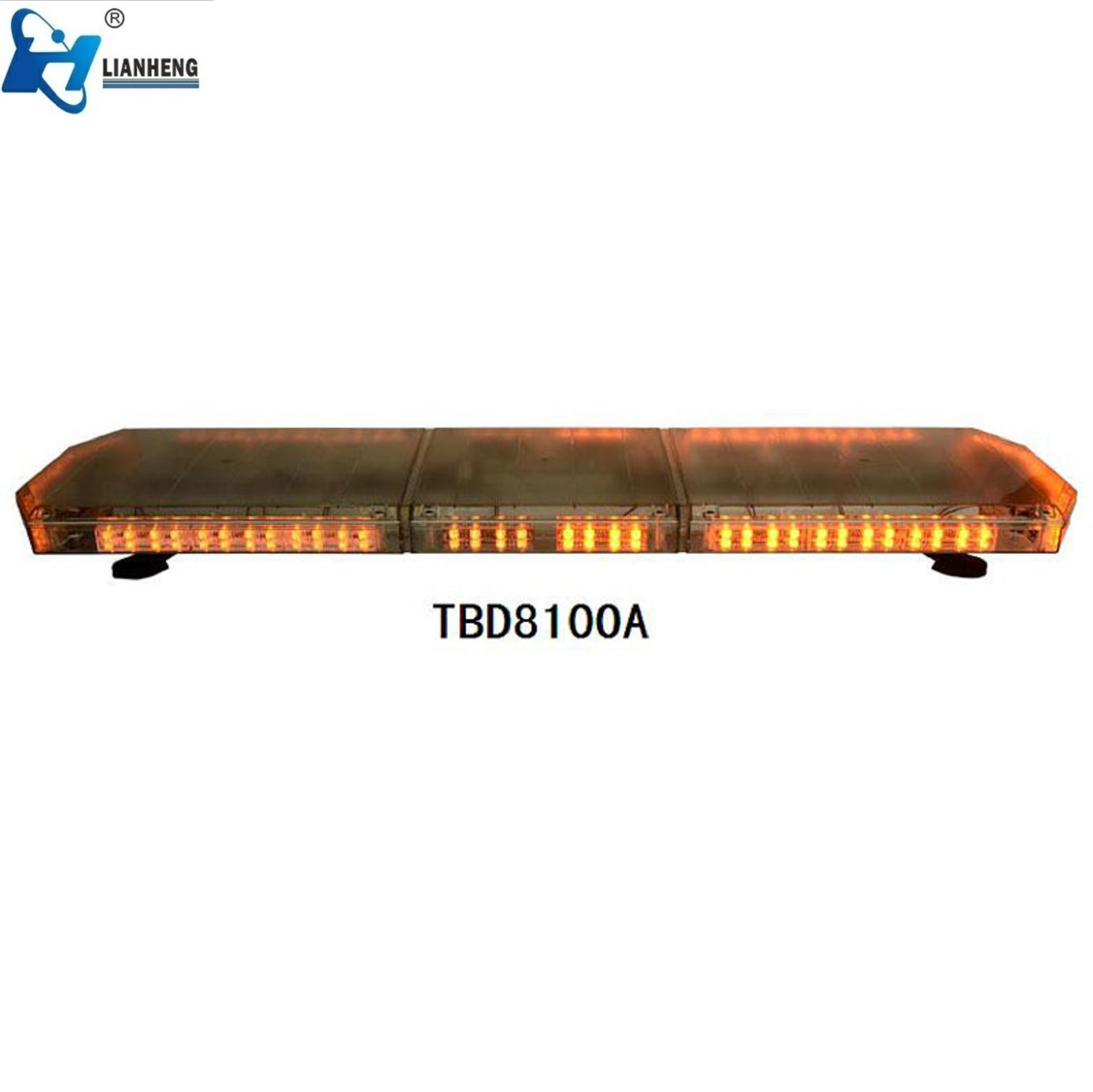 Amber emergency vehicle magnetic beacon flashing warning lights for vehicle