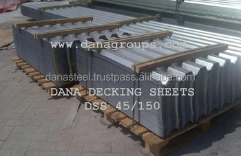 Gi deck plate sheet supplier Dubai Ajman Sharjah Abu Dhabi Jeddah Doha,  View gi deck plate supplier, DANA STEEL UAE manufacturer supplier Product