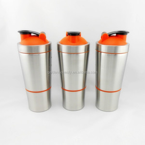 20oz stainless steel protein shaker bottle with paypal payment