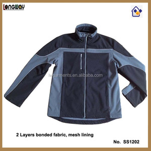 2016 MEN'S WATERPROOF SOFTSHELL JACKET FOR WORK CONDITION