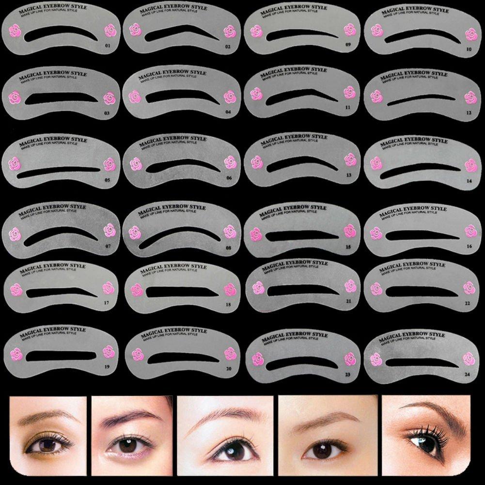 Cheap Eyebrow Plastic Templates Stencil Find Eyebrow Plastic
