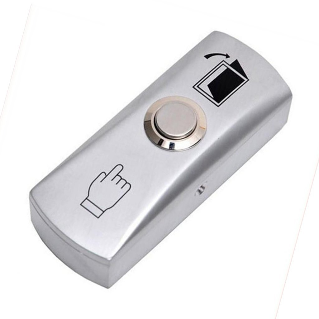 Cheap Push Button Door Switch Find Deals On 5pcs Lot 3a 250v Off 1 Circuit Non Locking Get Quotations Monkeyjack Access Exit Release Silver