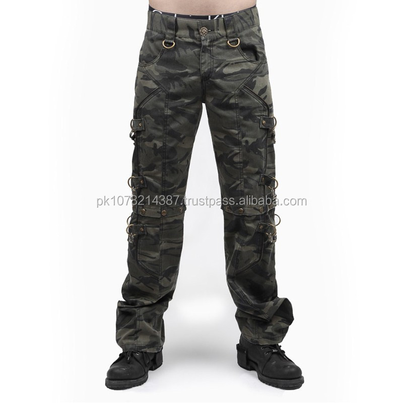 2015 Gothic Men's camouflage cargo pants / shorts cotton material