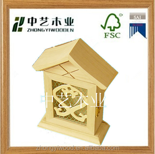 2015 china factory suppliers promotional decoration wooden wall hanging key box