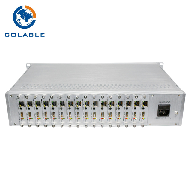 Baseline/ Main/High Profile H 264 & H 265 HEVC HDM +AV IP Encoder 16  Channel COL8216HA, View H 265 HEVC HD IP Encoder, Colable Product Details  from