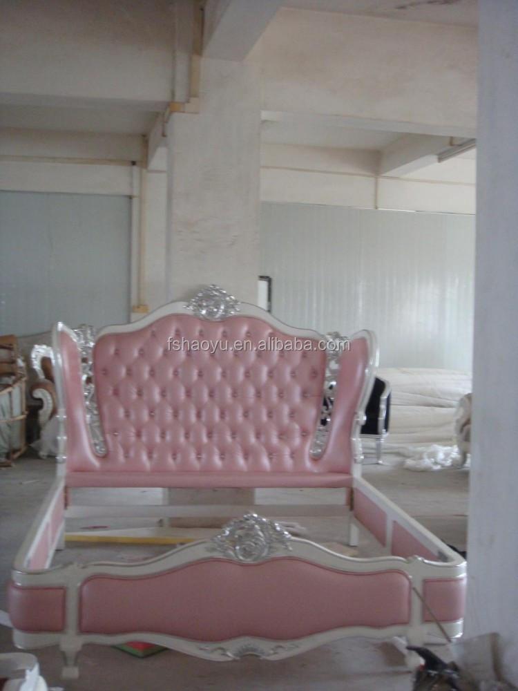 Antiguo cama de madera de estilo / antiguos de madera maciza camas ...