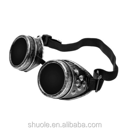 c02b36efd7389 Cyber Goggles Steampunk Glasses Vintage Retro Welding Punk Gothic Victorian  Durable Goggles glasses sunglasses