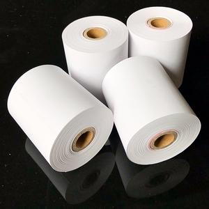 thermal paper scrap Paper core 80x80 mm 70gsm