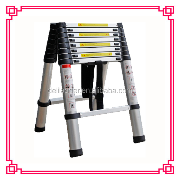Telescopic Ladder Parts : Aluminum folding ladder telescopic parts in