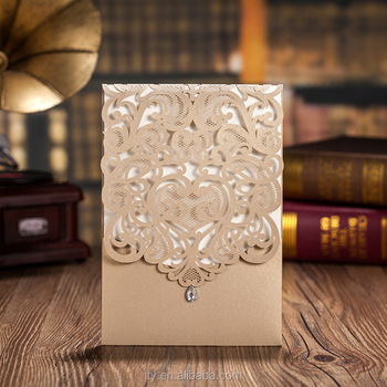 new style royal wedding invitation card for wedding party high grade made