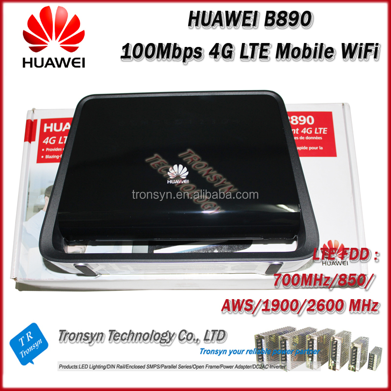 2014 New Original Unlock LTE FDD 100Mbps B890 4G Router With External Antenna With USB,RJ11 And LAN Port