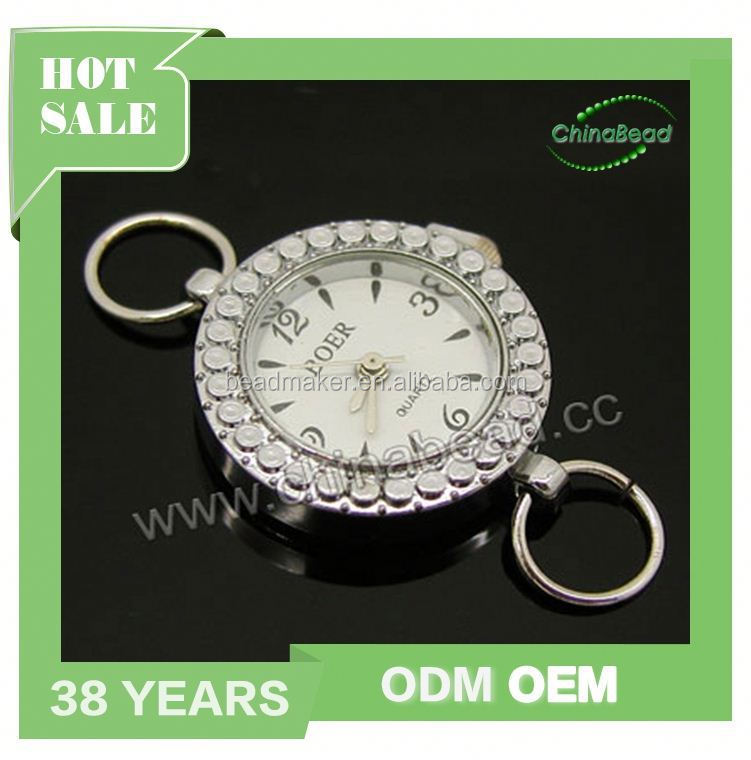 Women Watch Head, Round Zinc Alloy Quartz Watch Head in Antique Bronze Plating, Nice Component For Making Watch Jewelry