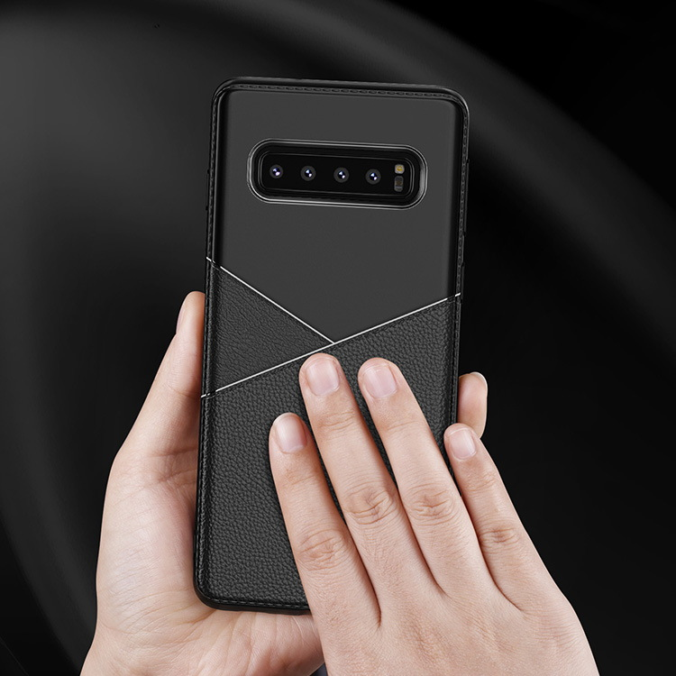 Business Type TPU Phone Cover For Samsung Galaxy S10 Plus S10 S10e Case