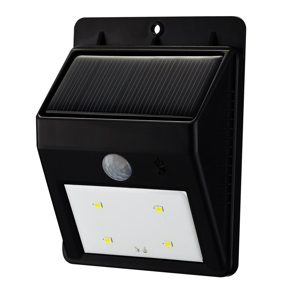 Solar Wireless Outdoor 4led Security Motion Sensor Night Light ...