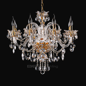 Design gold glass pendant light,traditional crystal chandelier lamp 2108097