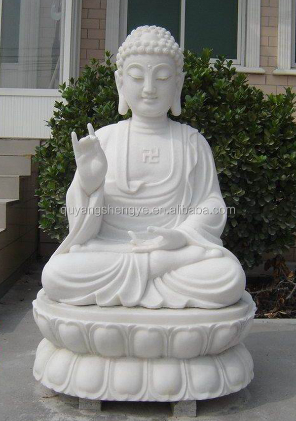 outdoor life size stone buddha statues for sale