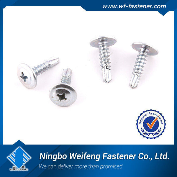 haiyan factory made in China manufacturers suppliers fastener Self Tapping Screw Galvanized Truss Head Screw For Wood Decking