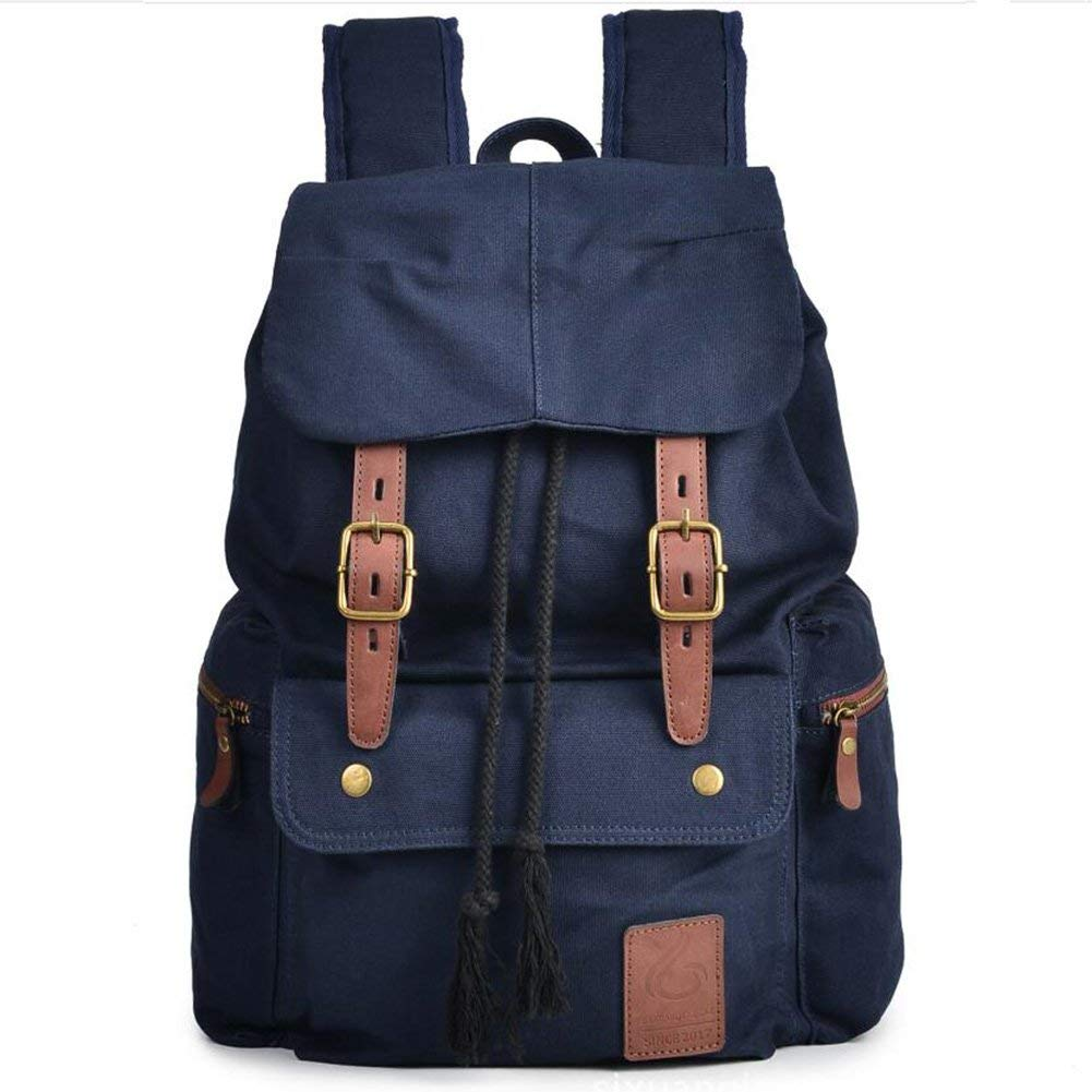 13f7b00b67 Get Quotations · Mens Backpack Canvas Bookbag backpacks Casual Large Space  Cotton bag Outdoor Sports backpack Climbing Hiking Backpack