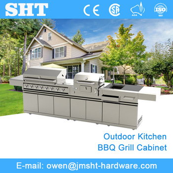 Factory direct pricing modern stainless steel kitchen cabinet sale