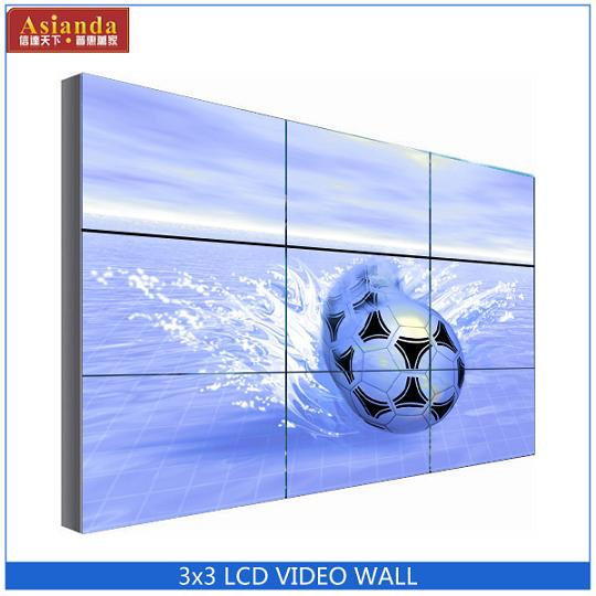 "Samsung panel 55"" 5.7mm ultra narrow bezel LCD video screen with LED backlight"