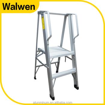 Portable Platform Ladder,stair Ladder Platform,aluminum Platform Ladder