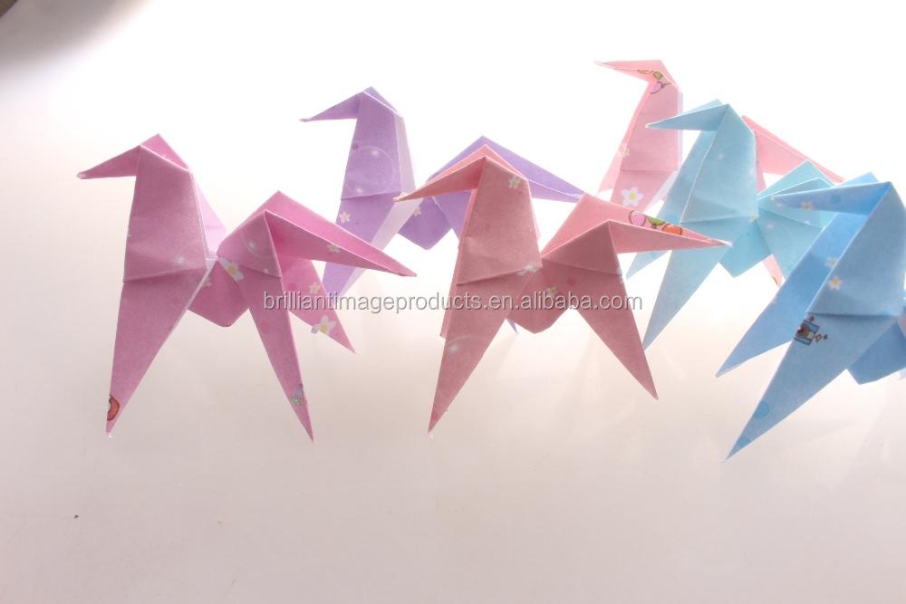 Personalizzato Piegato Origami Gru Di Carta Carta Giapponese Pesce