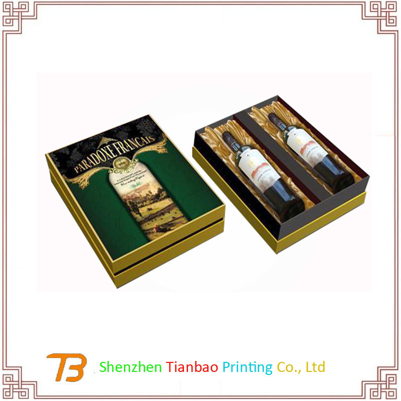 shenzhen Full Color Printing Gold/Silver Stamping Paper Box manufacturer