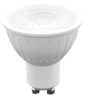 LED gu10 Gu5.3 5W spotlight dimmable AL plastic