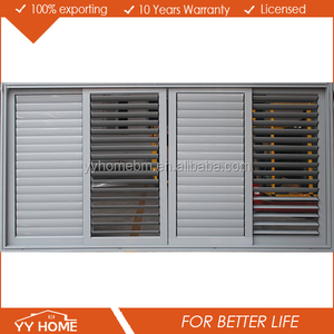 YY Home aluminium louvre security shutters