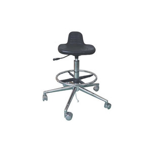 Black Conductive Chair for Laboratory