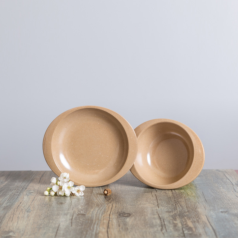 biodegradable material corn baby dinnerware set