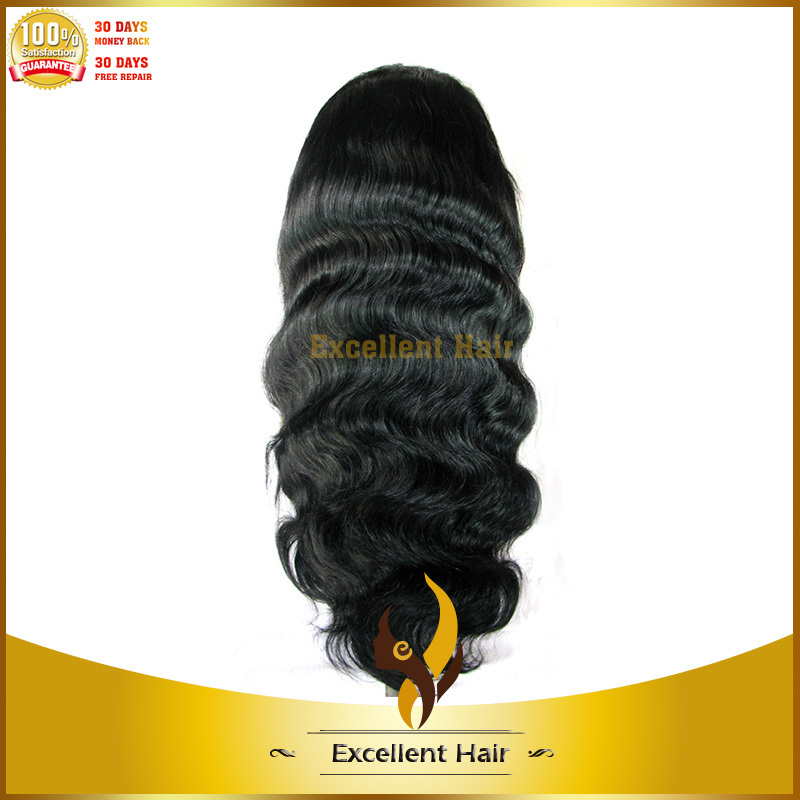 Hot fashion new body wave large african american wigs quality unprocessed brazilian hair large african american wigs