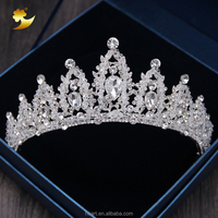 Wedding Tiara Crystal Birthday Tiara Miss World Crown