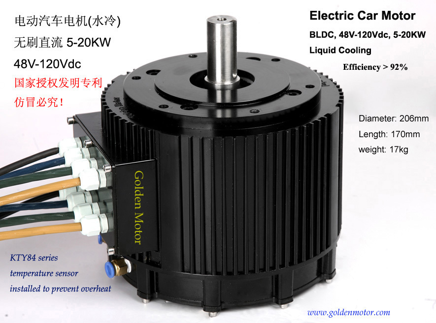 Powerful Electric Car Motor Solutions
