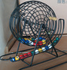 Deluxe Wire Cage Bingo Set with Balls & Cards & Markers Leave nothing to chance as you play with Cardinal Industries