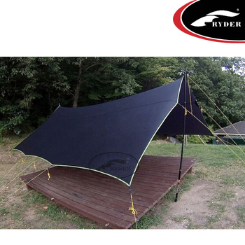 Medium image of camping ripstop hammock coverultralight flysheet tent camping tarp nylon outdoor awning