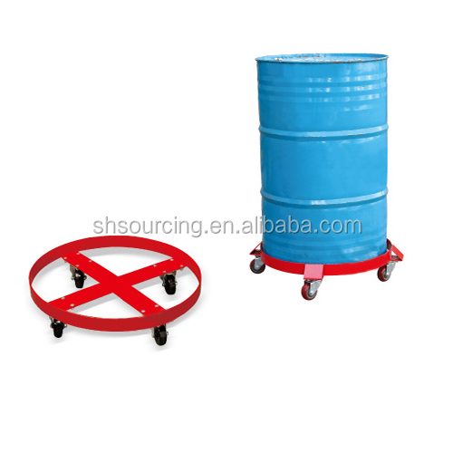 Stainless steel wheels Hand Oil Drum Truck