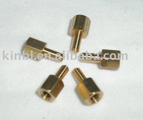 BRASS hex panel nuts
